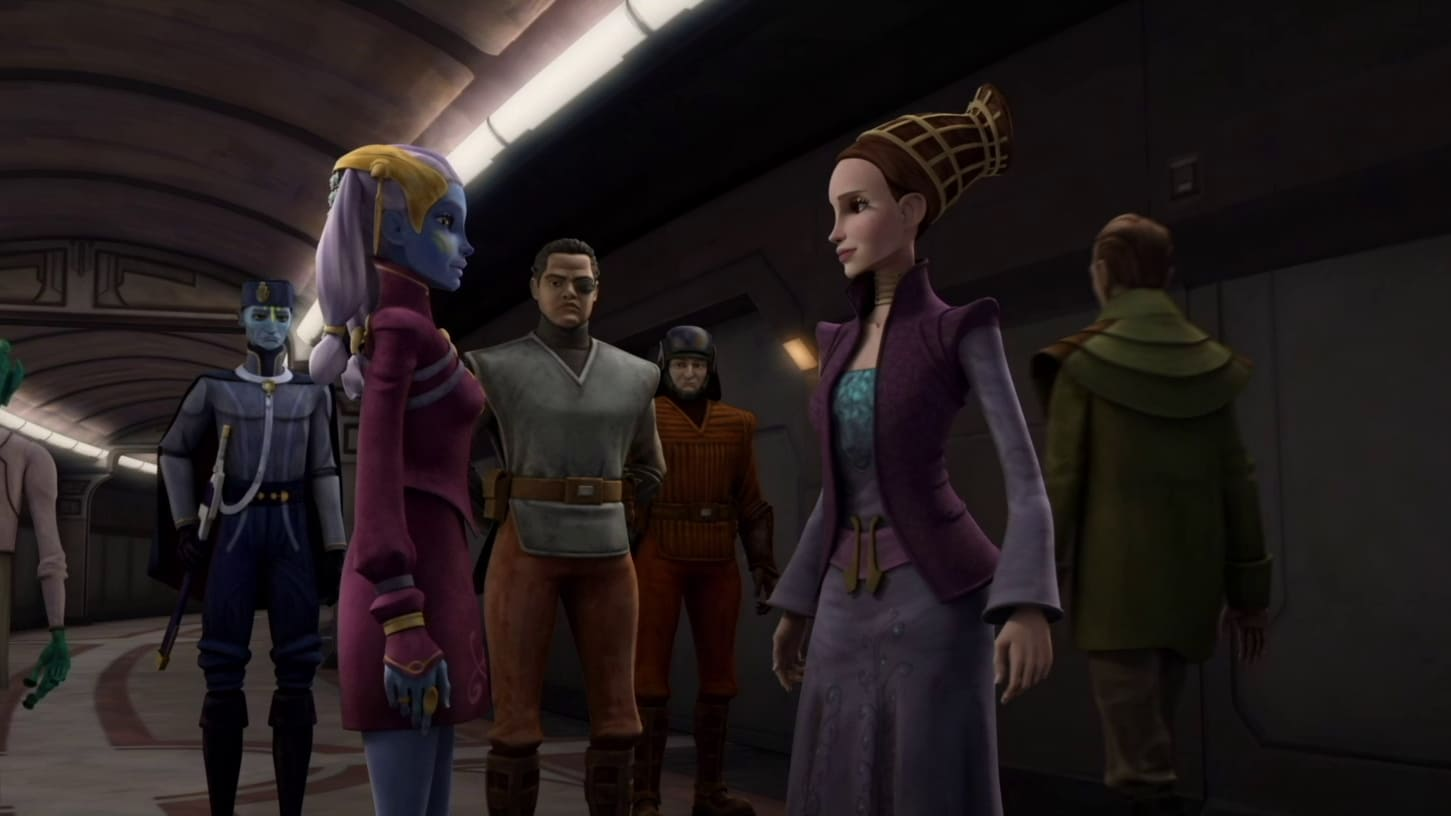 Star Wars: The Clone Wars - Season 3 Episode 4 : Sphere of Influence