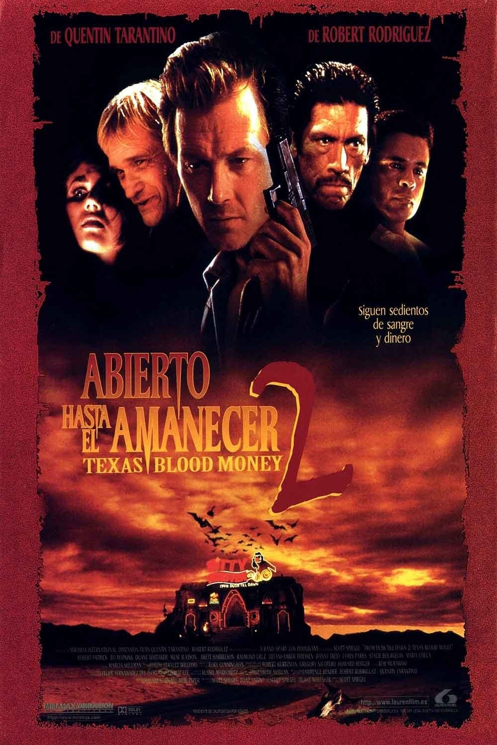 Póster Abierto hasta el amanecer 2: Texas Blood Money