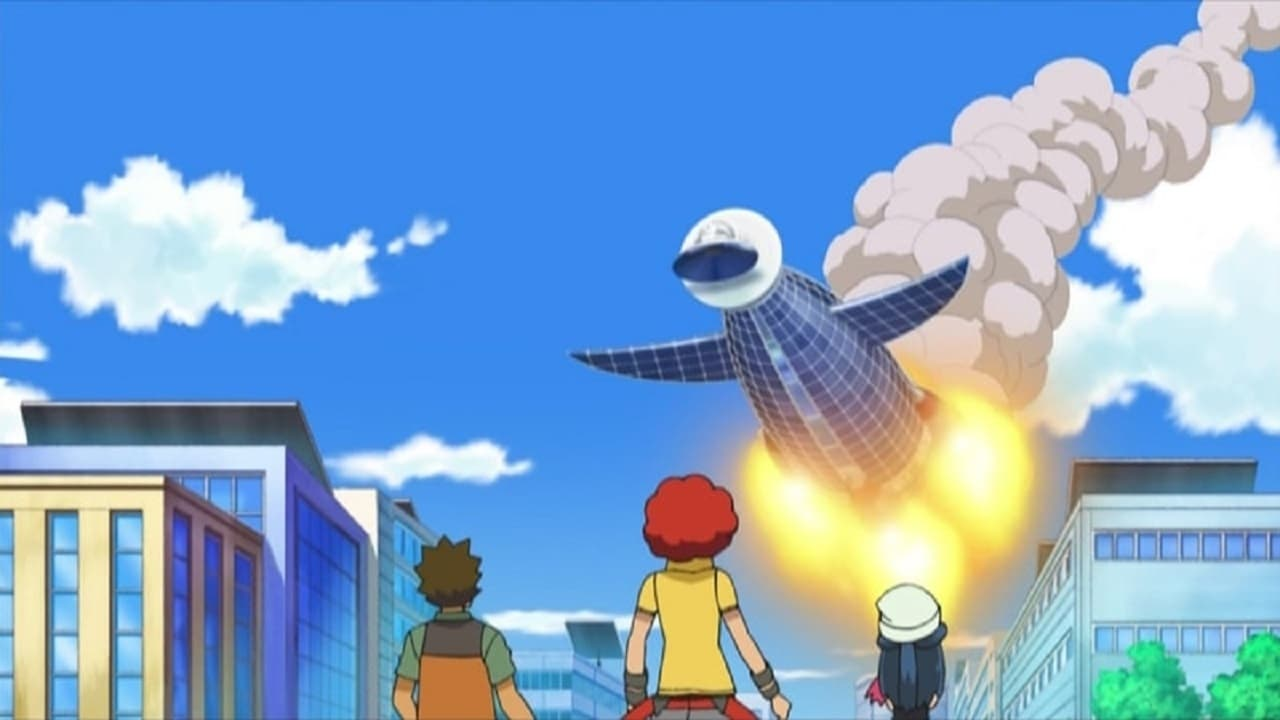 Pokémon Season 13 :Episode 9  The Fleeing Tower of Sunyshore!