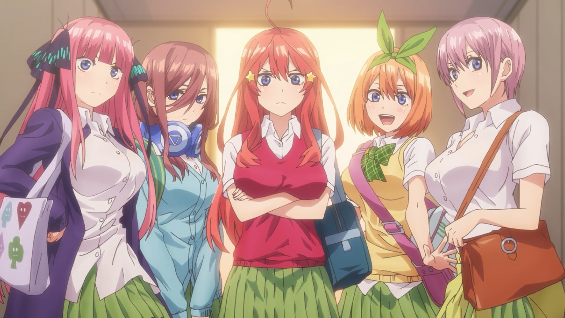 The Quintessential Quintuplets Season 1 :Episode 1  The Quintessential Quintuplets