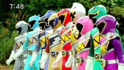 Super Sentai - Season 37 Episode 39 : Brave 39:Full Force! 10 Dinosaurs' Power