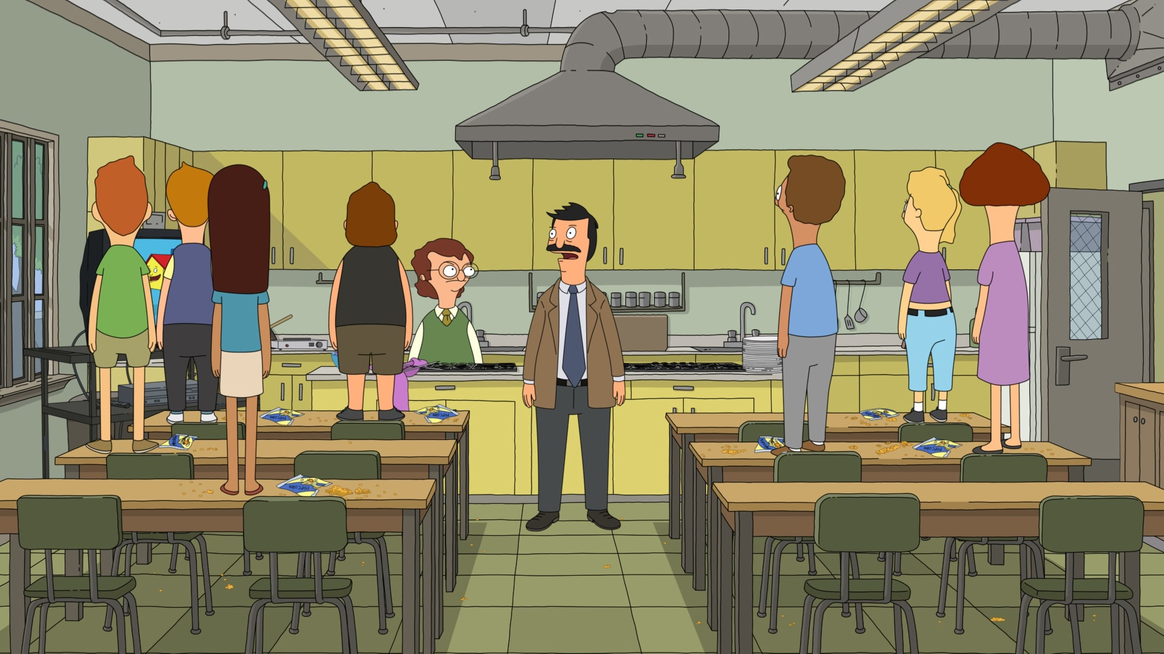 Bob's Burgers - Season 4 Episode 7 : Bob and Deliver