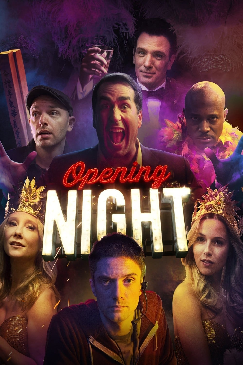 Póster Opening Night