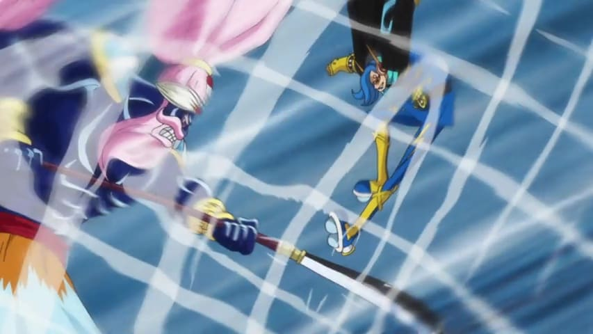 One Piece Season 19 :Episode 841  Escape From the Tea Party - Luffy vs. Big Mom!
