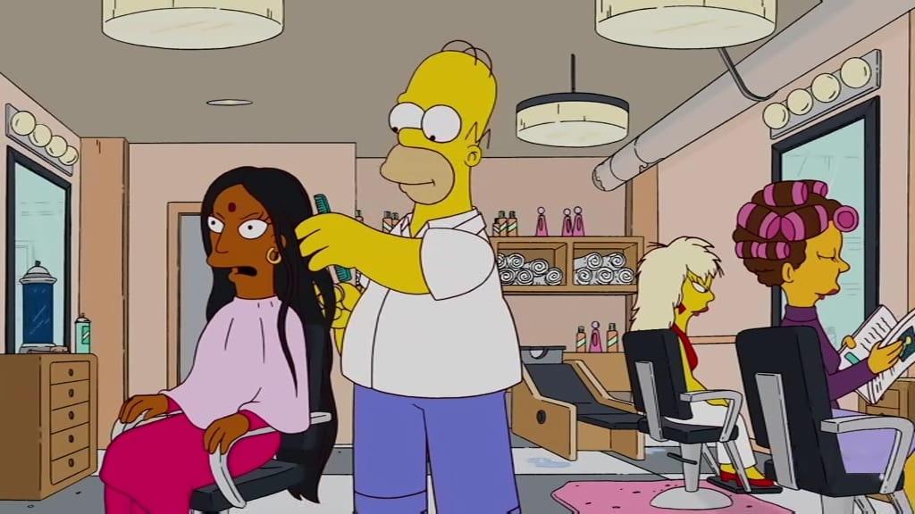 The Simpsons Season 22 :Episode 20  Homer Scissorhands