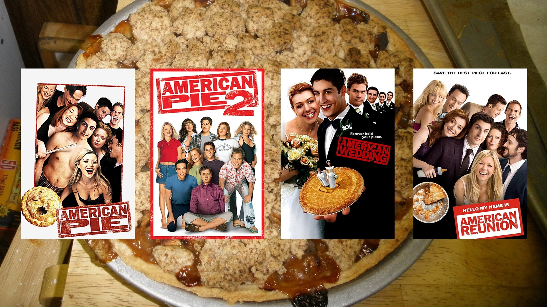 all movies from american pie collection saga are on movies