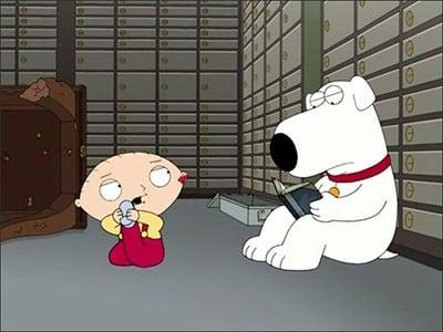 Family Guy Season 8 :Episode 17  Brian & Stewie