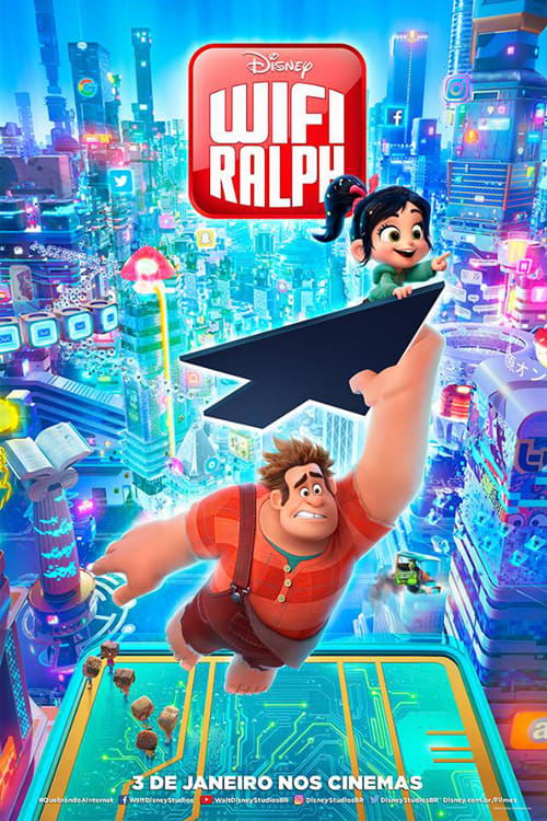 WiFi Ralph - Quebrando a Internet (2019) Torrent - WEB-DL 720p e 1080p Dublado e Legendado Download