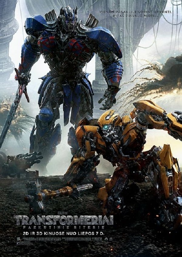 Transformeriai: Paskutinis Riteris / Transformers: The Last Knight (2017)