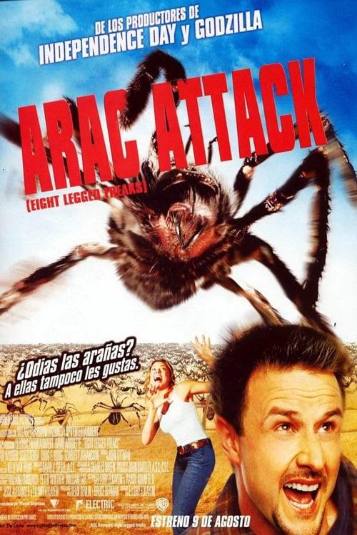 Póster Arac Attack