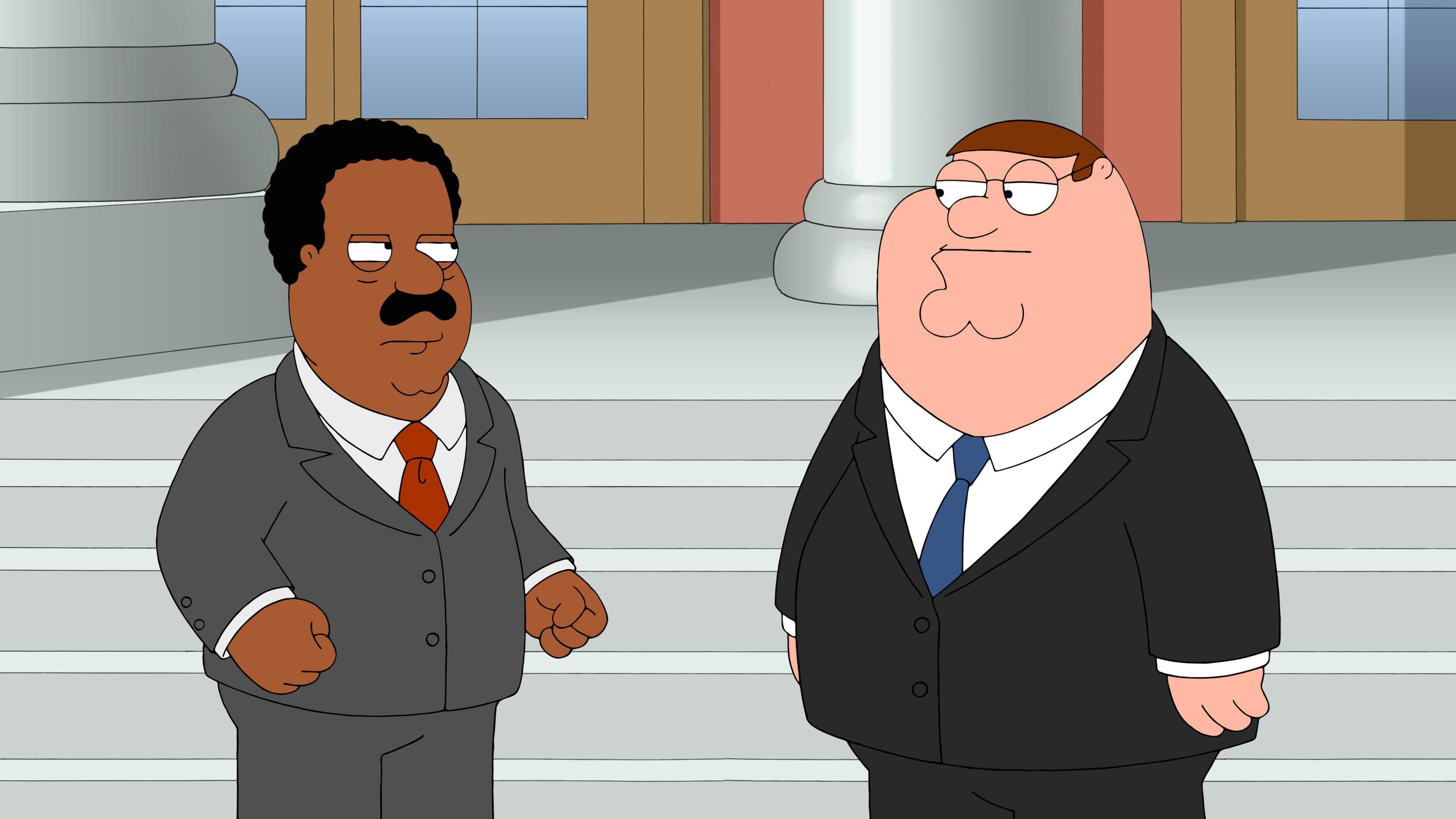 Family Guy Season 14 : A Shot in the Dark
