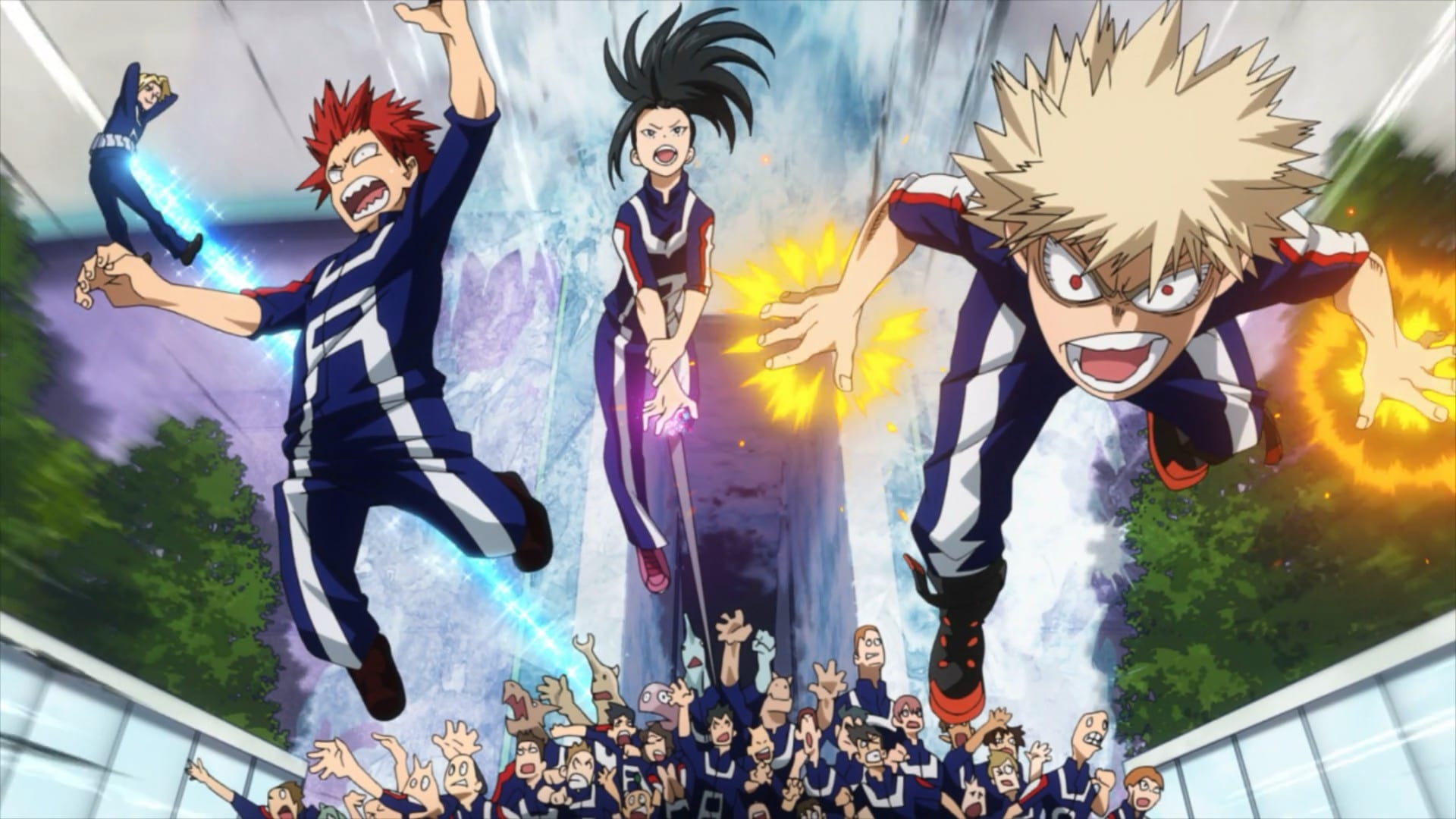 My Hero Academia Season 2 :Episode 2  Roaring Sports Festival