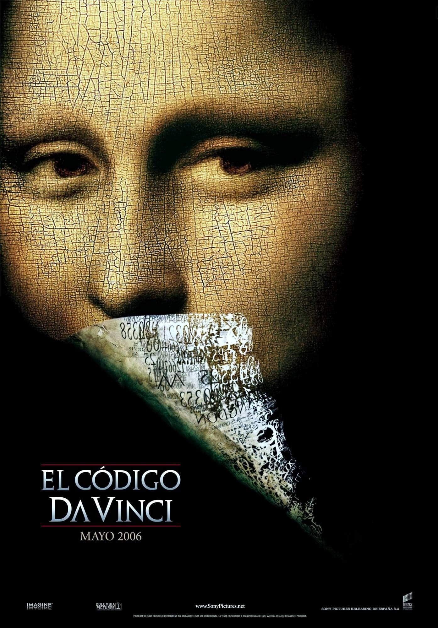 Póster El c�digo Da Vinci