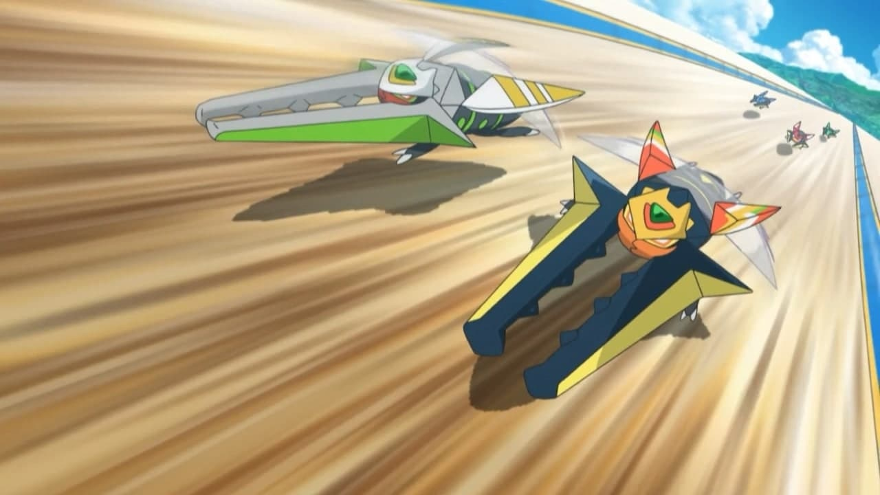 Pokémon Season 22 :Episode 27  A High-Speed Awakening!