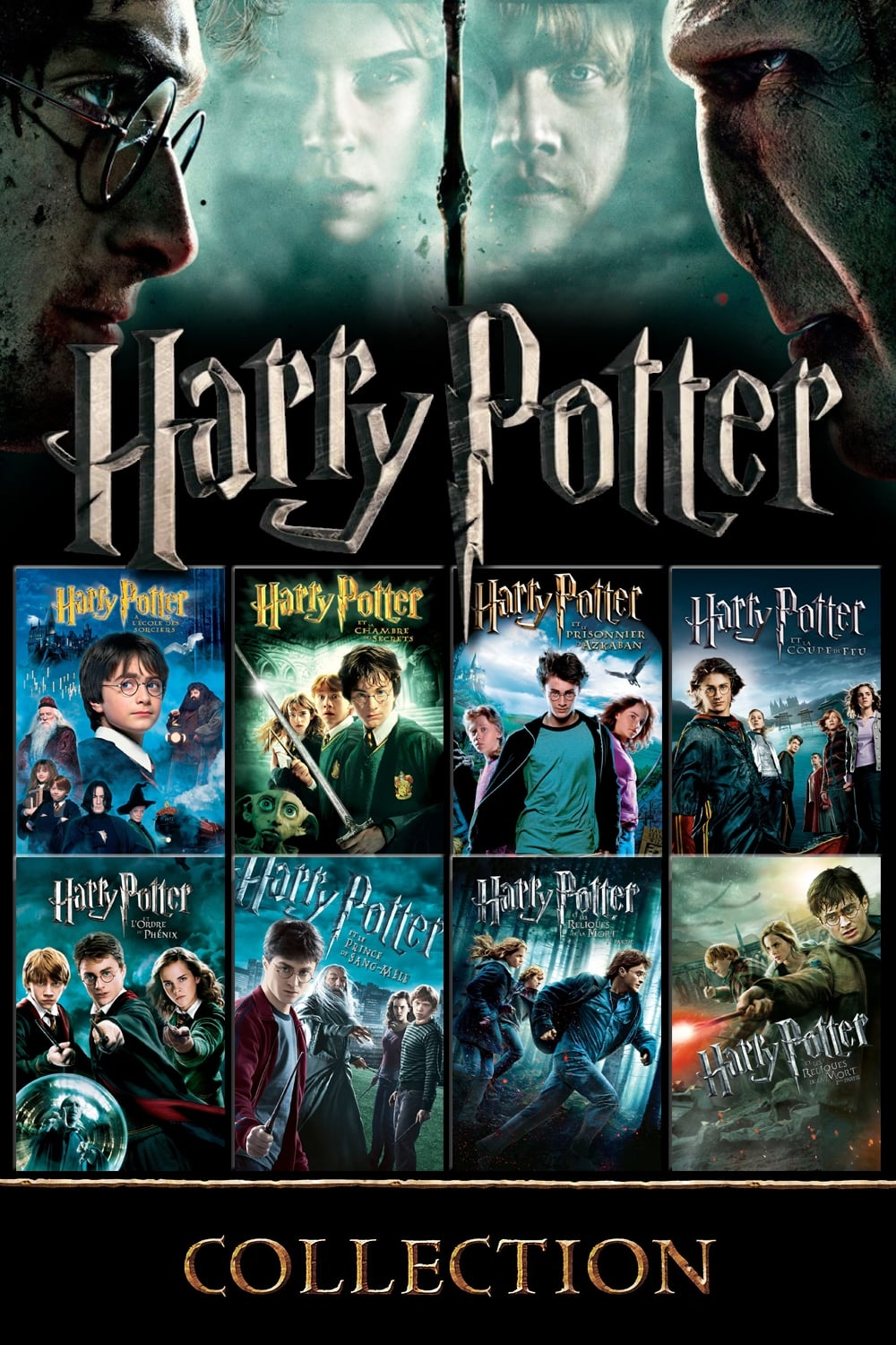 all movies from harry potter collection saga are on movies