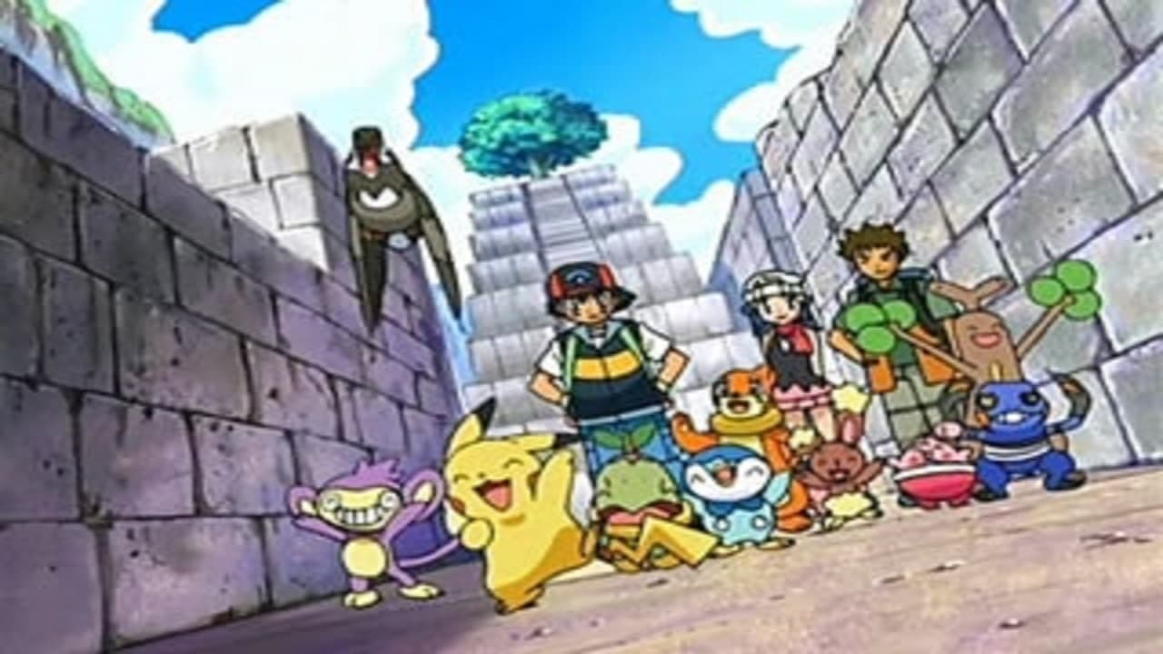 Pokémon Season 10 :Episode 46  A Maze-ing Race!