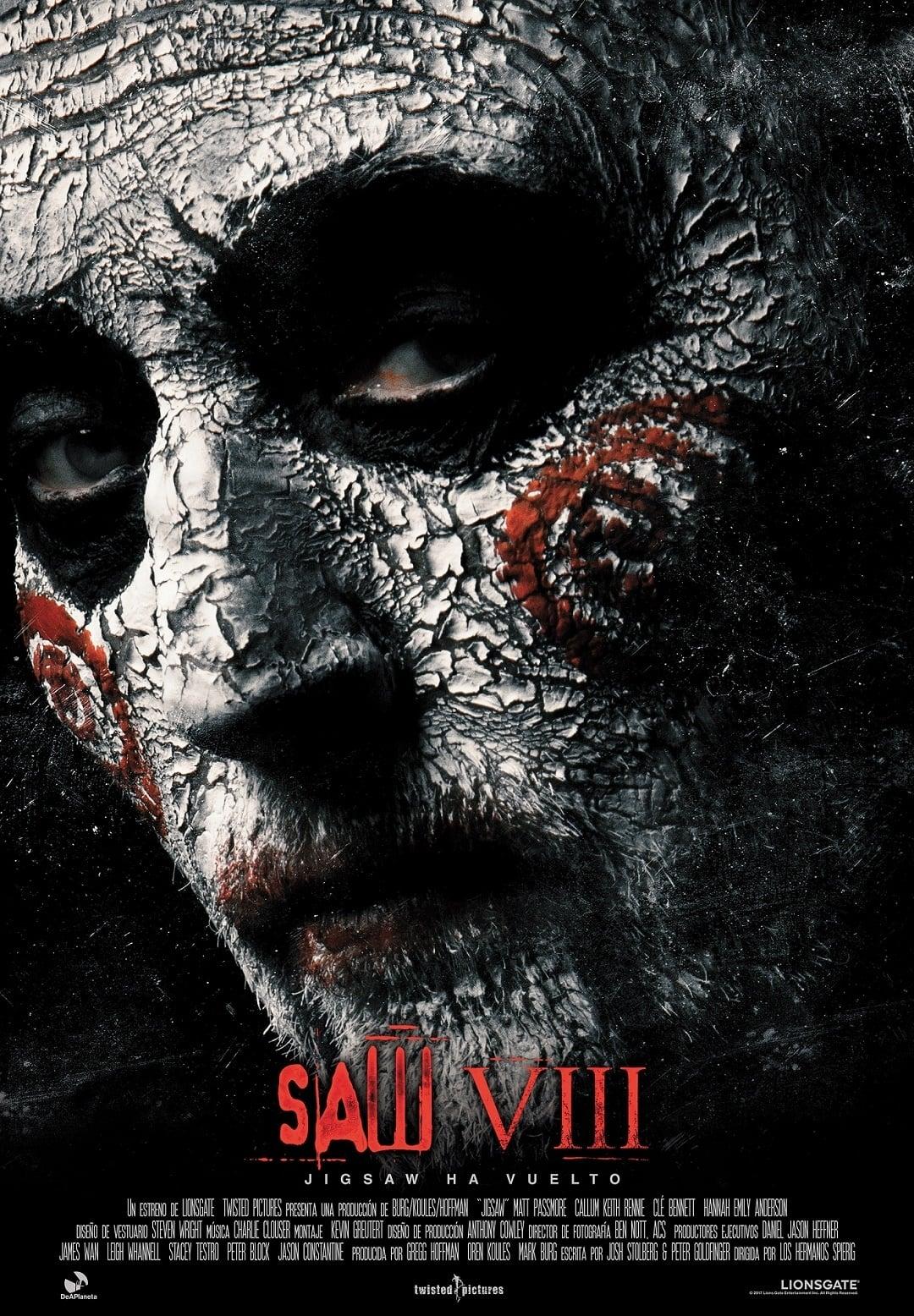 Póster Saw VIII (Jigsaw)
