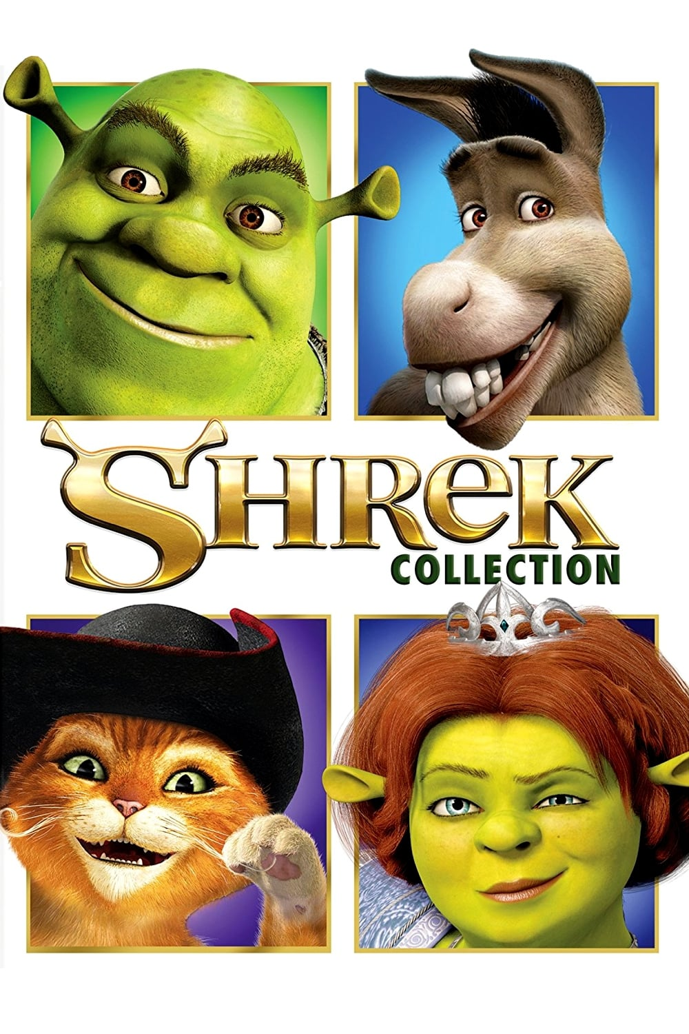 all movies from shrek collection saga are on moviesfilm