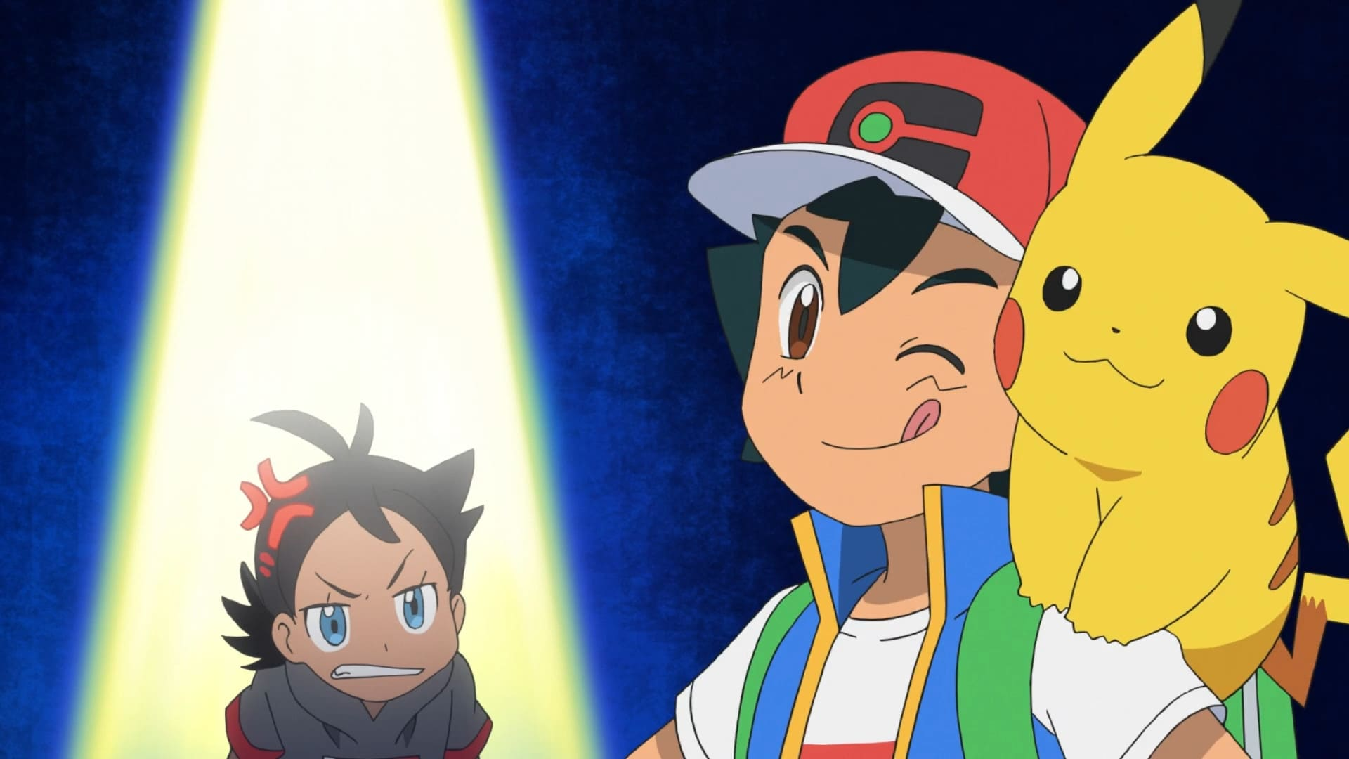 Pokémon Season 23 :Episode 26  Splash, Dash, and Smash for the Crown! Slowking's Crowning!