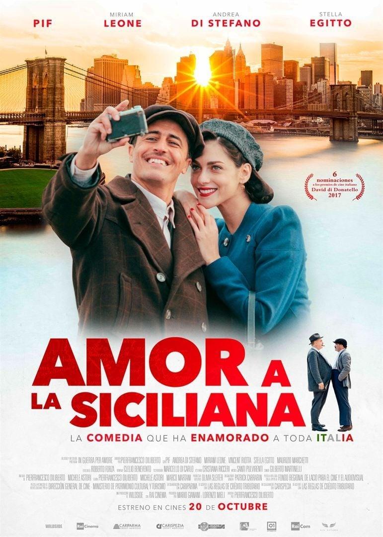 Póster Amor a la siciliana