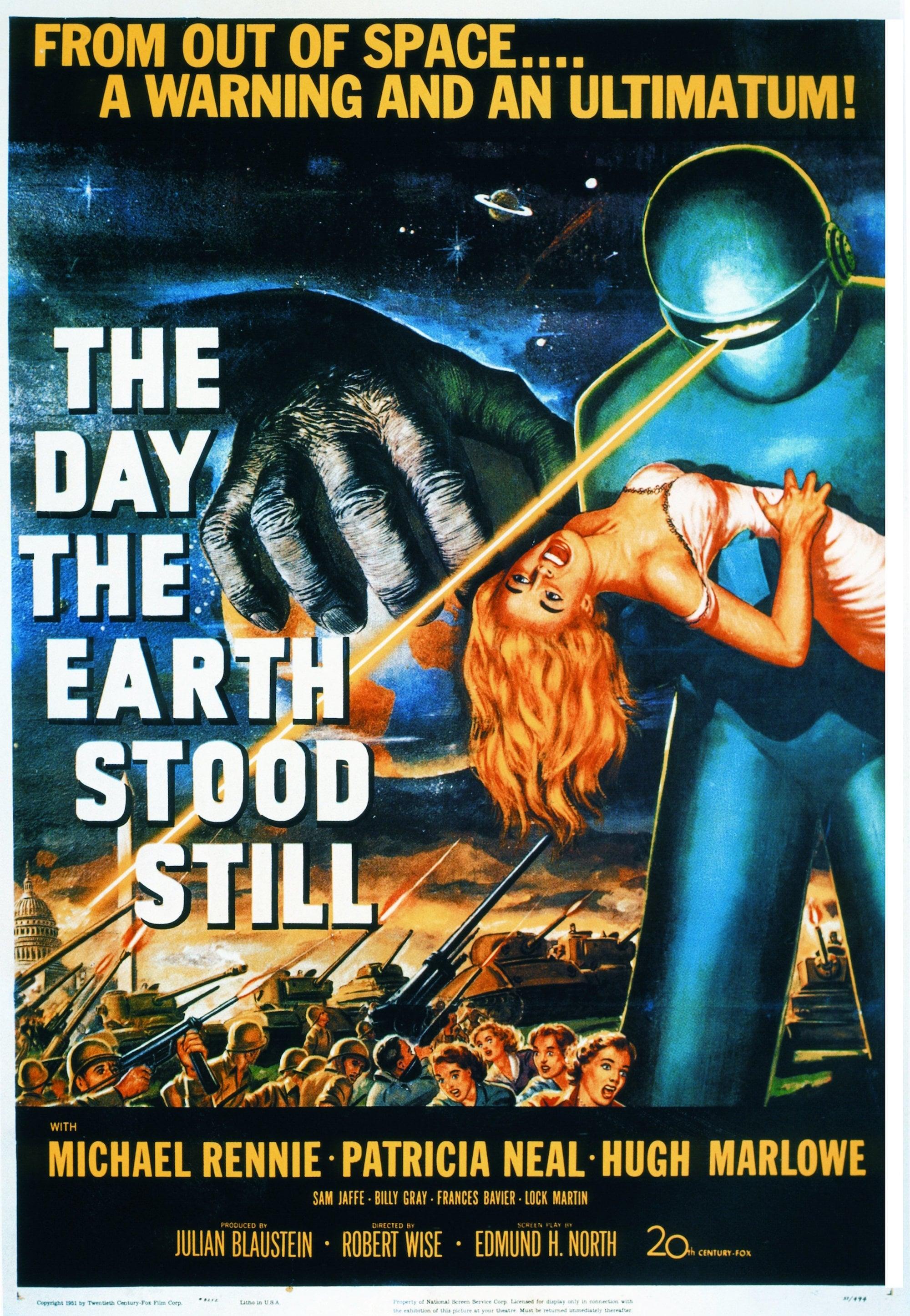 The Day the Earth Stood Still (1951) FULL MOVIE - YouTube