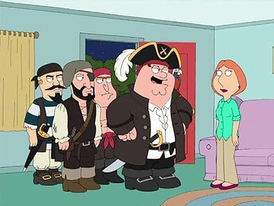 Family Guy Season 6 :Episode 12  Long John Peter