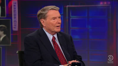 The Daily Show with Trevor Noah Season 16 :Episode 115  Jim Lehrer
