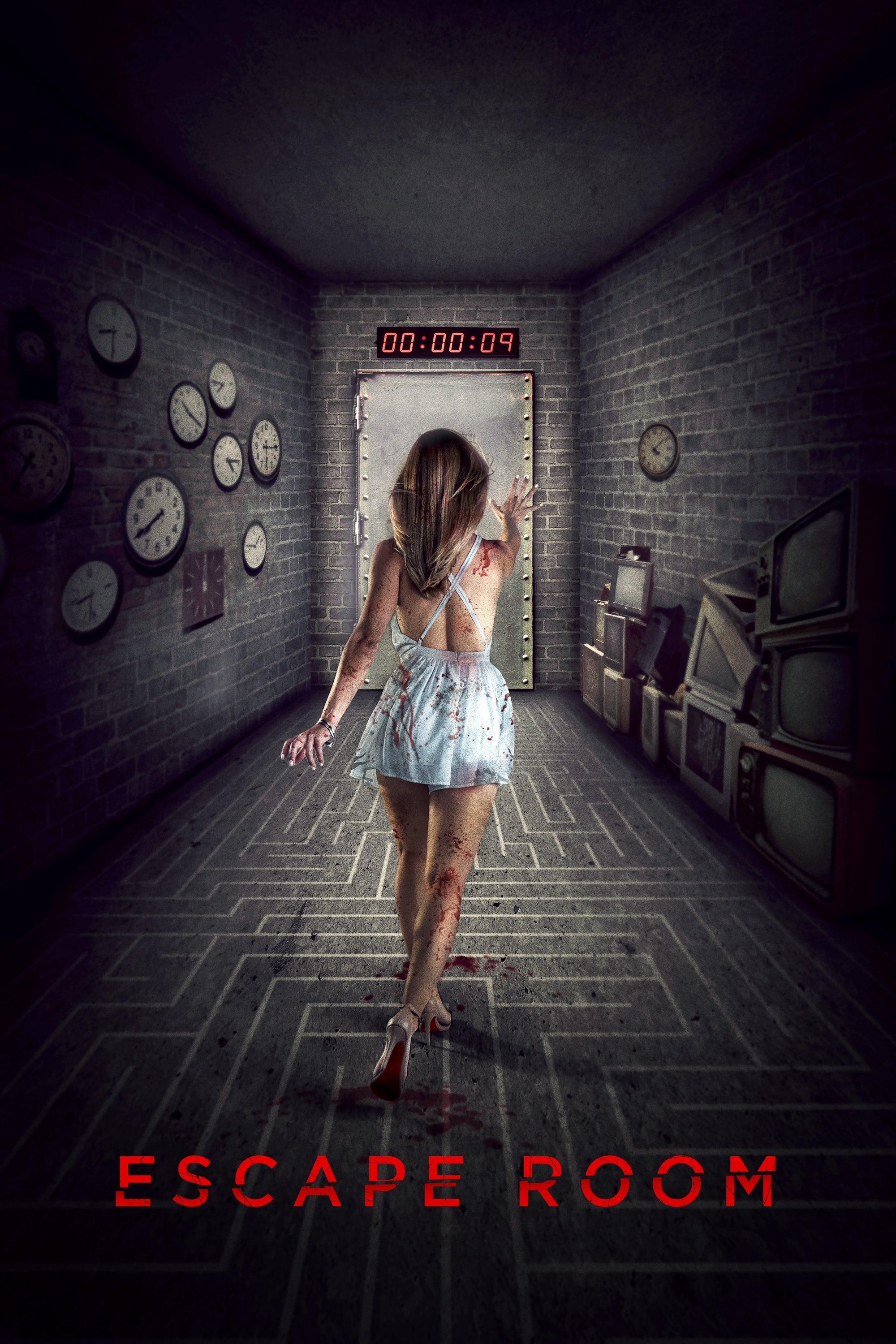 Póster Escape Room