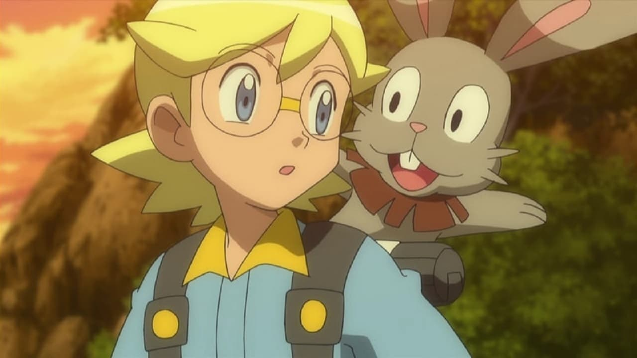 Pokémon Season 18 :Episode 40  A Trip Down Memory Train!