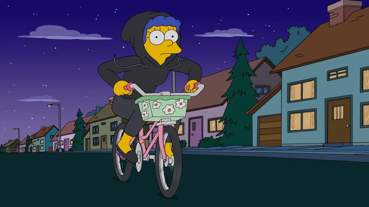 The Simpsons Season 26 :Episode 18  Peeping Mom