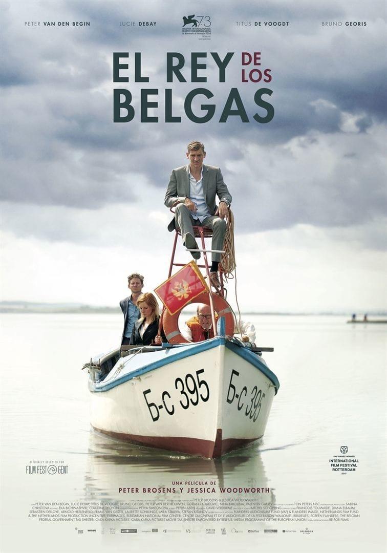 Póster El rey de los belgas