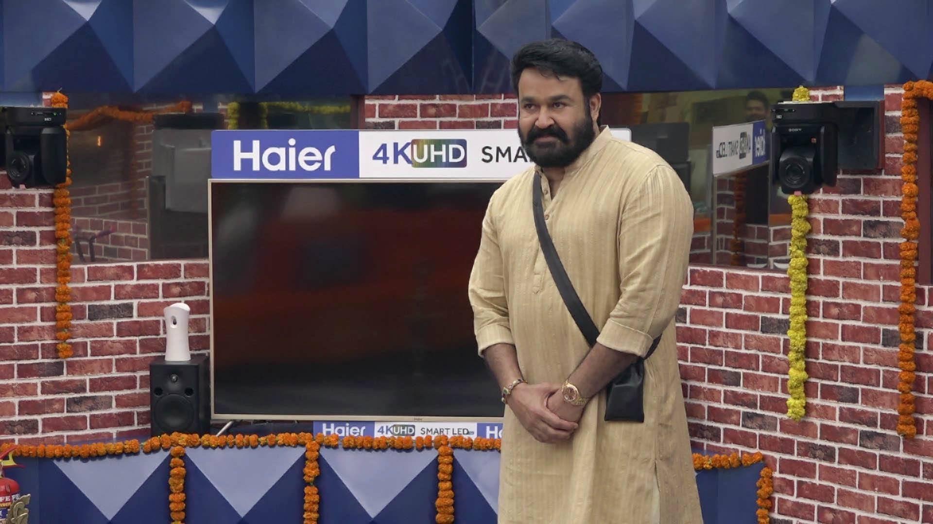 Bigg Boss - Season 1 Episode 63 : Day 62: Mohanlal Enters the House