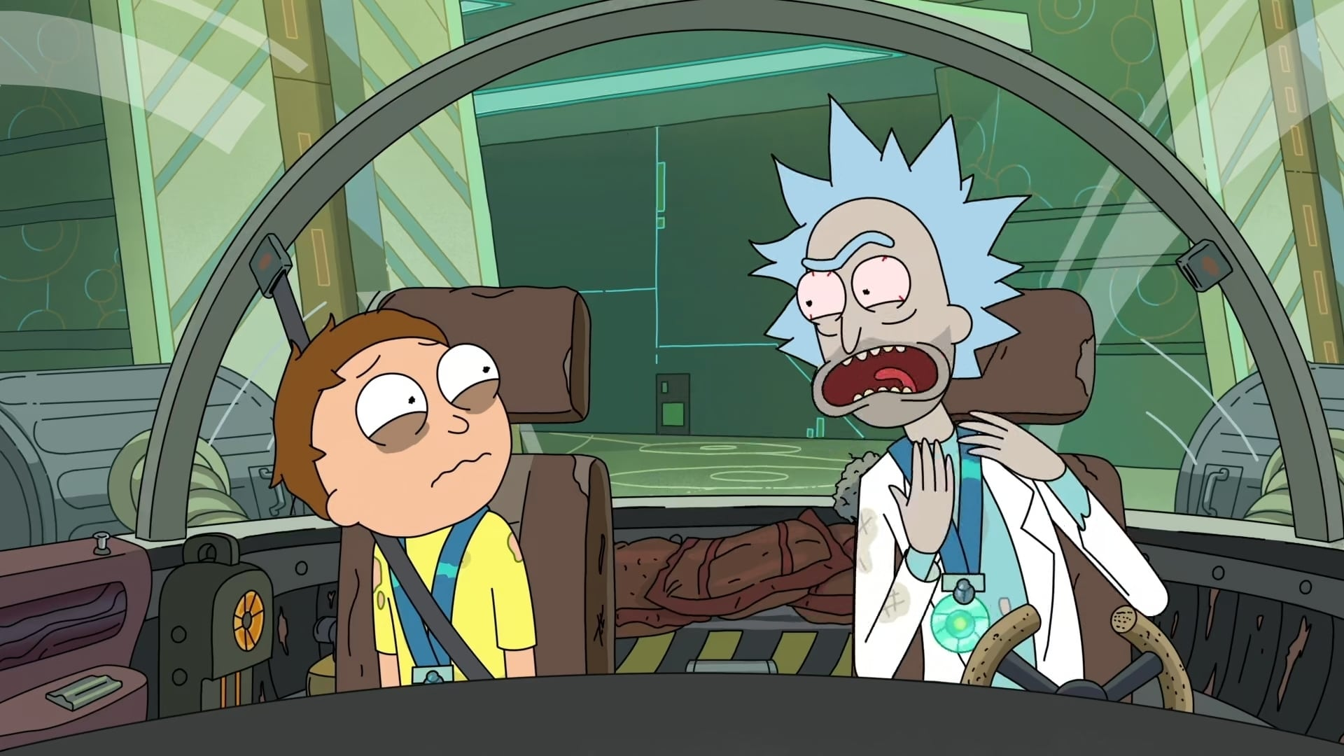 Rick and Morty - Season 3 Episode 6 : Rest and Ricklaxation