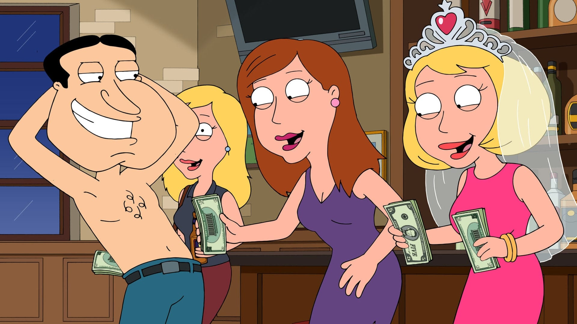 Family Guy Season 15 :Episode 3  American Gigg-olo