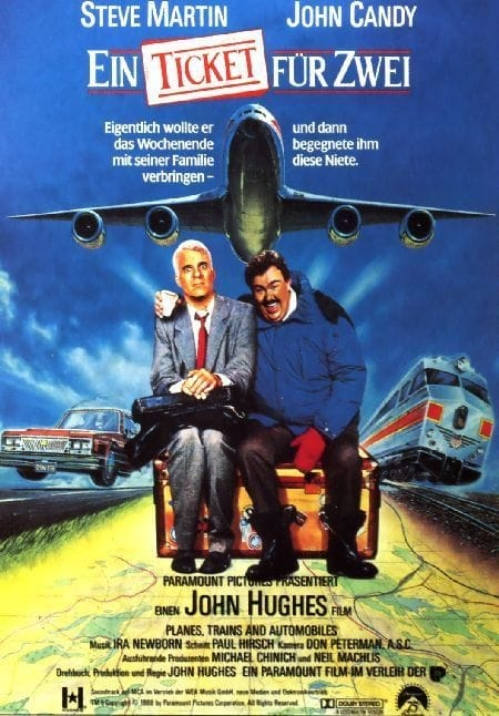 the different film techniques used in planes trains and automobiles a film by john hughes Steve martin and john candy starred in the holiday movie classic planes, trains and automobiles john hughes: a life in film movie.
