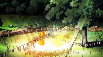 Fairy Tail Season 3 :Episode 33  Raging Battle! Natsu vs. Laxus!