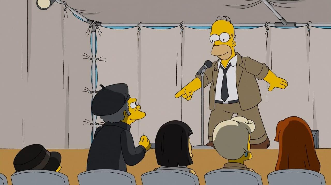 The Simpsons Season 27 :Episode 21  Simprovised