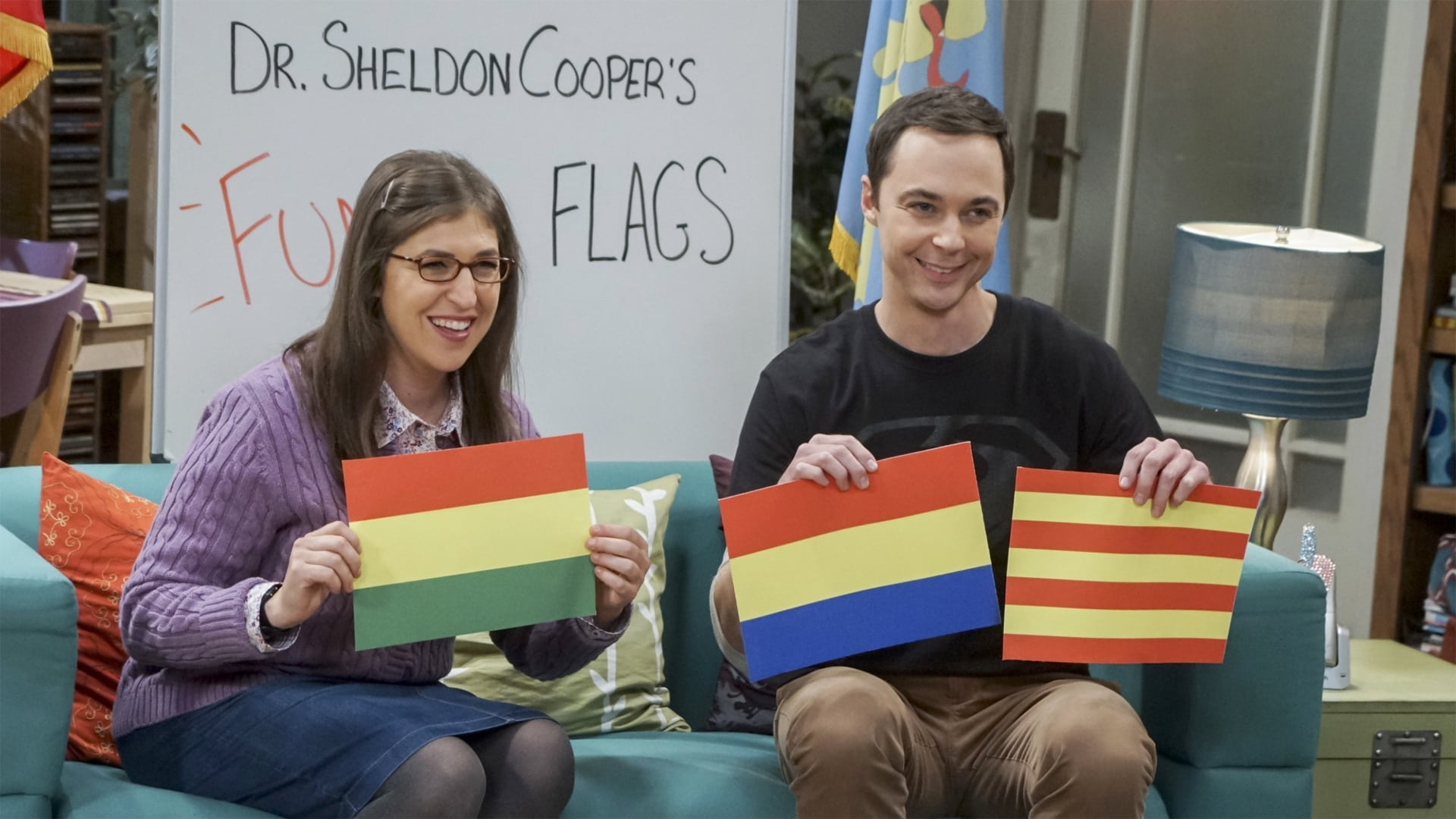 The Big Bang Theory Season 10 : The Veracity Elasticity