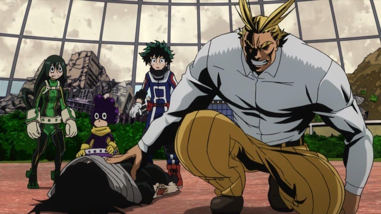My Hero Academia Season 1 :Episode 12  All Might