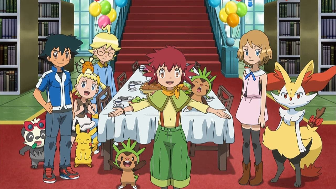 Pokémon Season 19 :Episode 44  Battling With a Clean Slate!