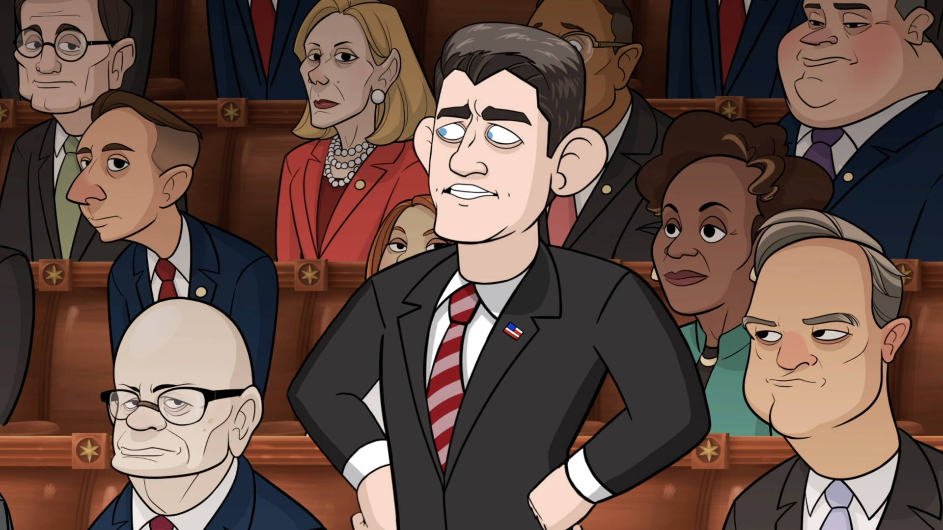 Our Cartoon President • S01E08