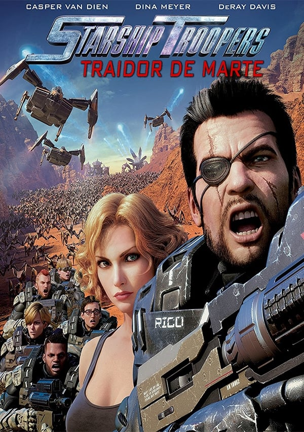 Póster Starship Troopers: Traidores de Marte