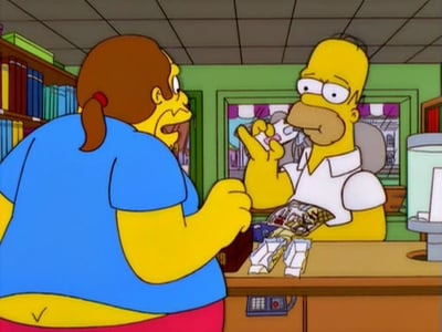 The Simpsons - Season 12 Episode 5 : Homer vs. Dignity