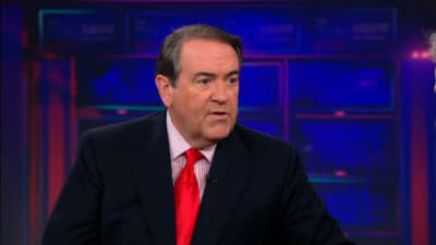 The Daily Show with Trevor Noah Season 18 :Episode 23  Mike Huckabee