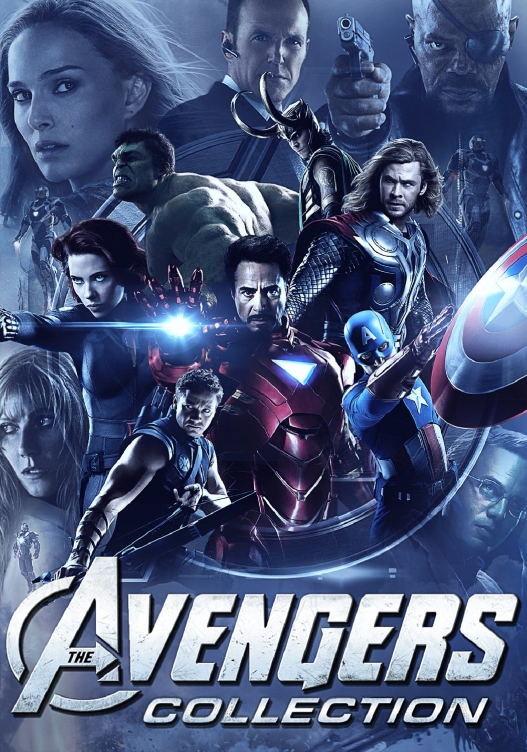 all movies from the avengers collection saga are on movies