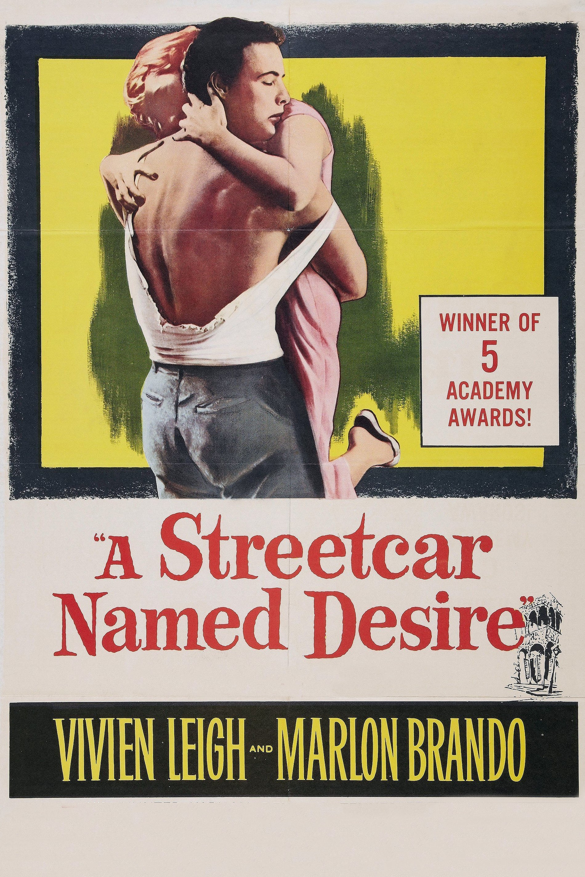 a streetcar named desire and top girl A streetcar named desire is another one of those must see films for film buffs you see the movie everywhere in pop culture especially brando's famous yelling, hey, stella.