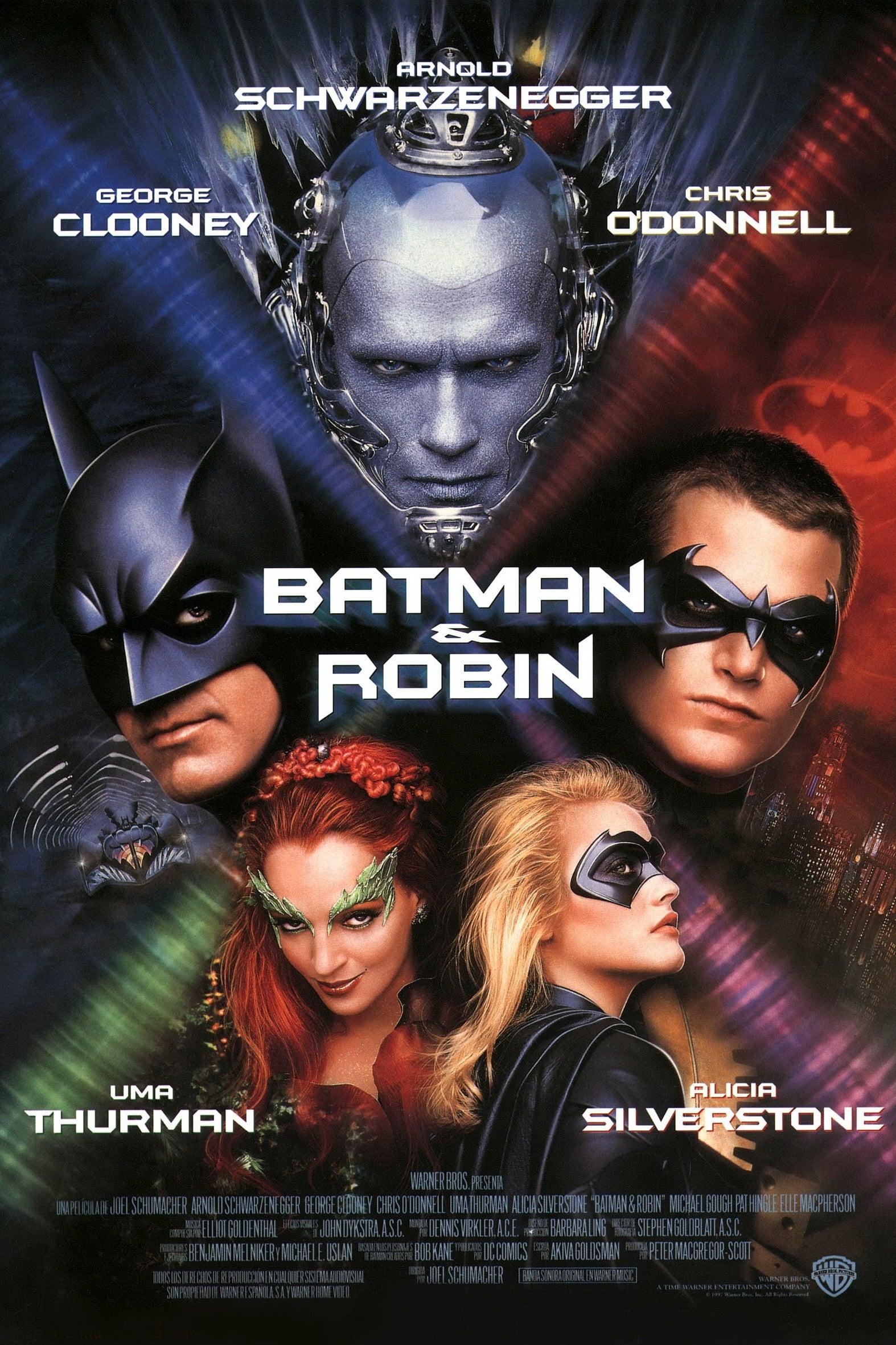 Póster Batman y Robin