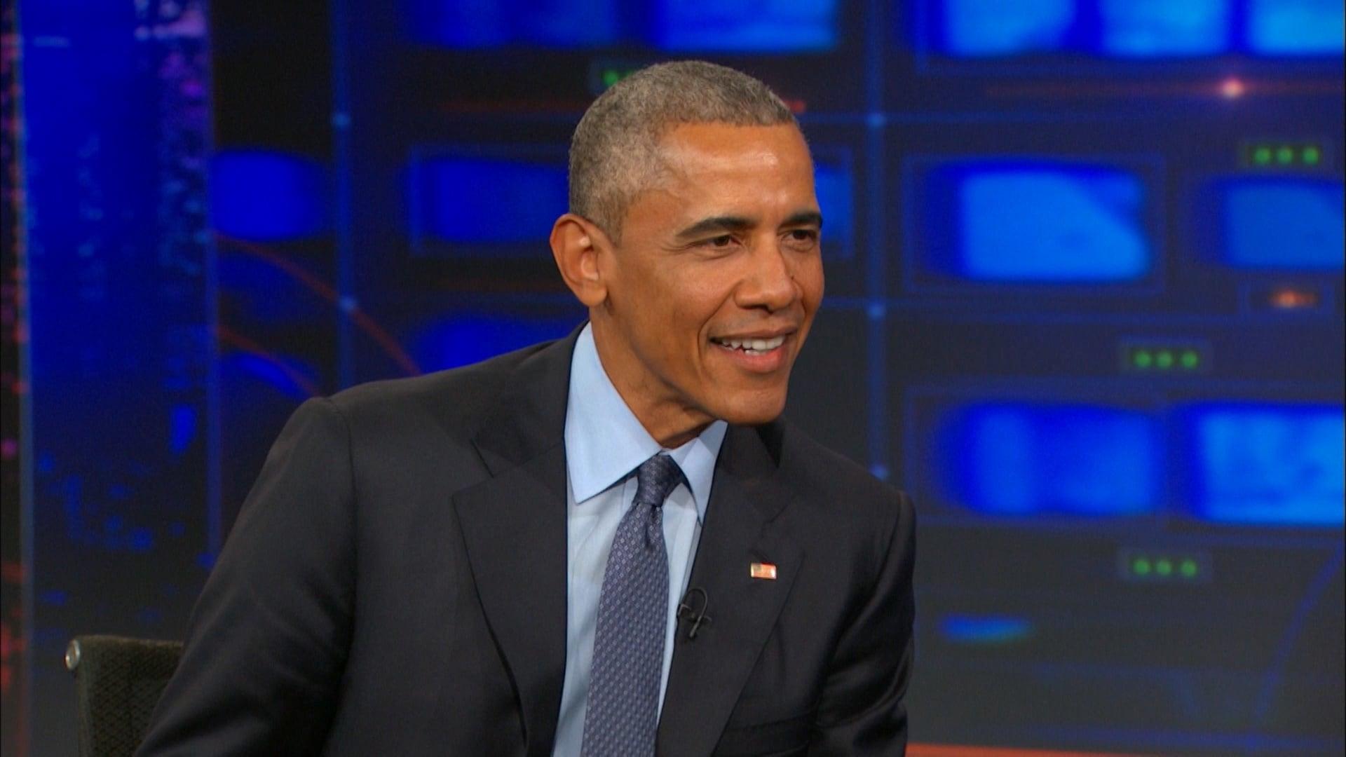 The Daily Show with Trevor Noah Season 20 :Episode 132  Barack Obama