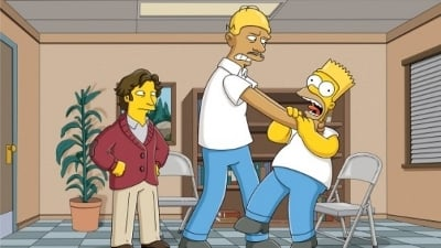 The Simpsons Season 22 :Episode 17  Love Is a Many Strangled Thing