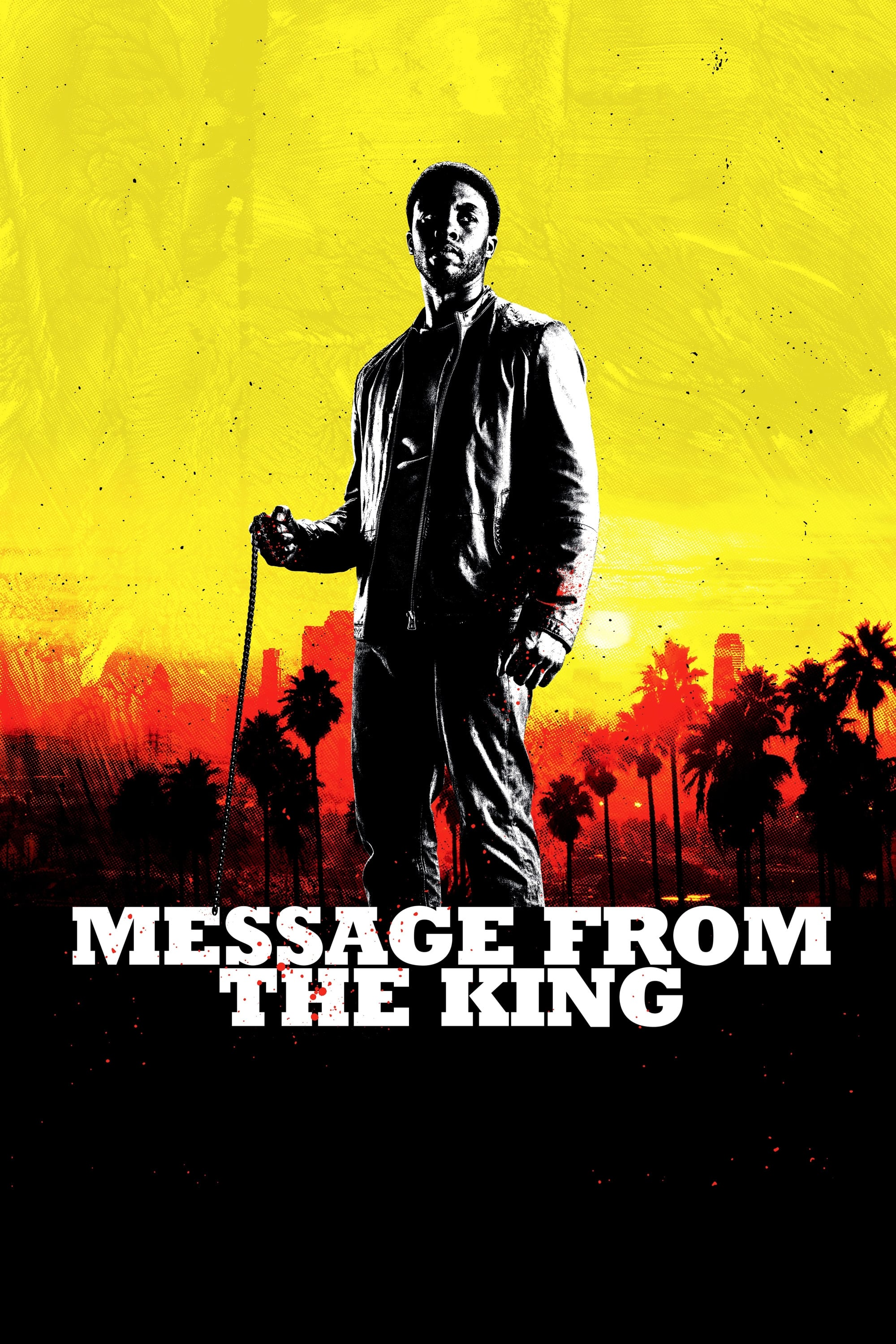 Póster Message from the King